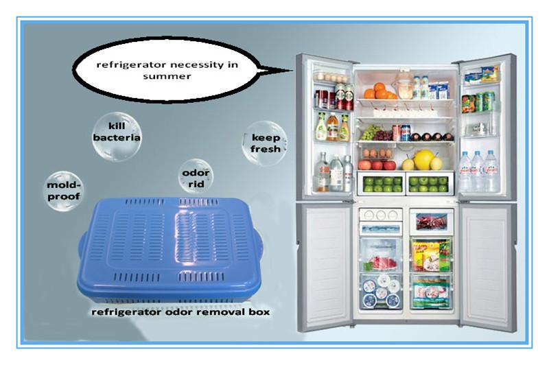 Fridge Deodorizer Odor Remover Dehumidifier Damp Rid