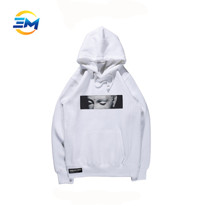 OEM wholesale plain sweater printing pullover hoodie for man clothes