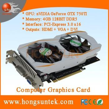 Oem Nvidia Geforce Gtx750ti 4gb Gddr5 Dvi/hdmii/vga Port Pci-express 3 0  X16 Graphics Card - Buy Gtx750ti,Nvidia Geforce Gtx750ti,Geforce Gtx 750ti