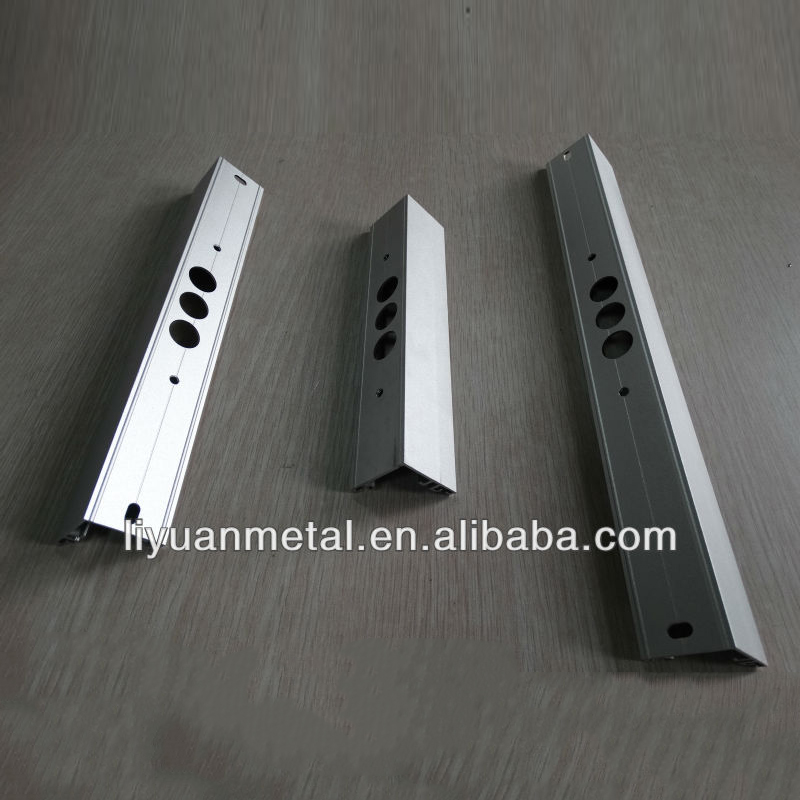 Factory price wholesale aluminum decorative trim industy hollow profiles