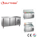 Commercial Stainless Steel Counter Top Used Refrigerated Salad Under Counter Fridge