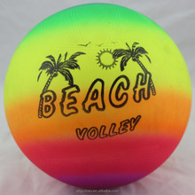 Eco-friendly PVC Inflatable custom beach ball for promotional