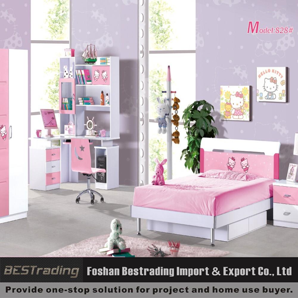 los nios muebles de dormitorio moderno mdf doble juego de cama