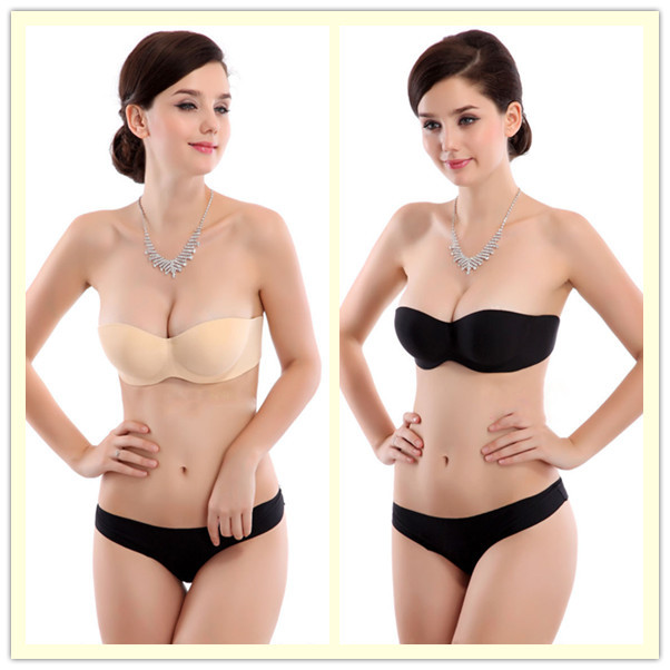 9dd22ee511 Buy Sexy Womens Brand Intimates Invisible Silicone Strapless Bra ...