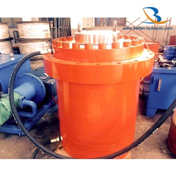 Double acting heavy duty 300 ton hydraulic cylinder