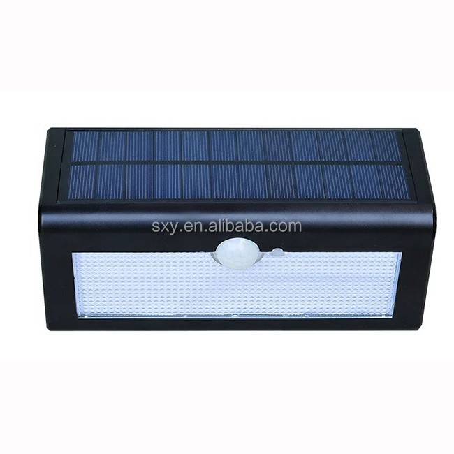 New products 38 LED Solar Powered Wireless Weatherproof motion sensor Outdoor solar security Lighting with 3 Intelligent Modes