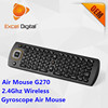universal remote controller G270 full keyboard wireless 2.4g air mouse for android tv box