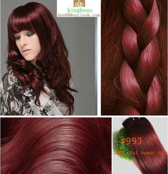 16inch 40cm 80cmclip in indian human hair extensions red wine 16inch 40cm 80cmclip in indian human hair extensions red wine burgundy color 99j pmusecretfo Choice Image