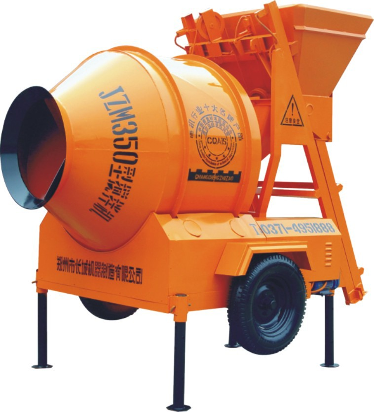Used Small Cement Mixers : Good quality small jzm portable concrete mixer with