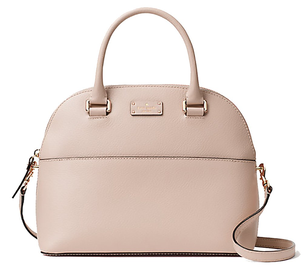 3eed8635a Get Quotations · Kate Spade Grove Street Carli Leather Crossbody Bag Purse  Satchel Shoulder Bag
