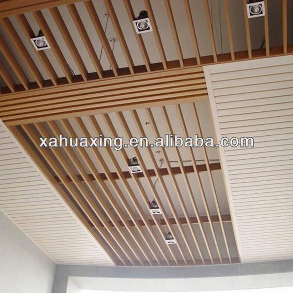 compuesto plstico de madera de imitacin estao baldosas falso techo falso techo