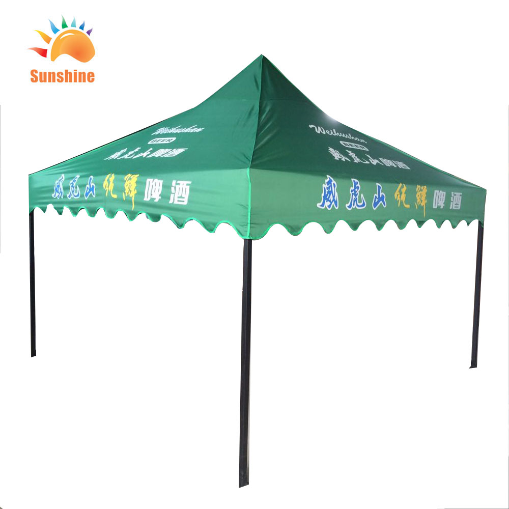 Custom printed roof top tent with the aluminium frame