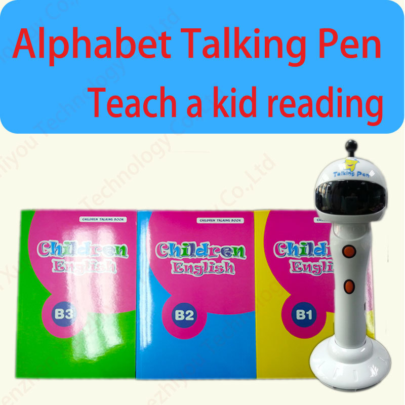 <strong>Toys</strong> for 0--6 year old kids educational device Digital Touch Reading pen