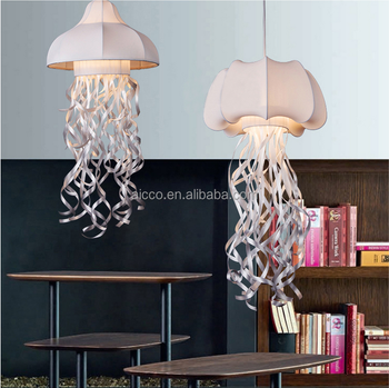 Popular Decorative Hanging Pendant Light Fabric Jellyfish Pendant Light Kids Modern Pendant Lighting & Popular Decorative Hanging Pendant Light Fabric Jellyfish Pendant ... azcodes.com