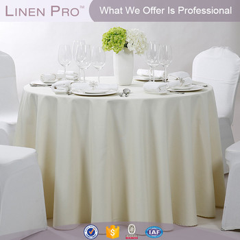 5 Star Restaurant Round Hotel Linen Cotton Table Cloth For Hotel