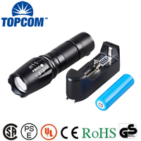Emergency Brightest Heavy Duty Long Range Distance Most Powerful Best LED Rechargeable flashlight