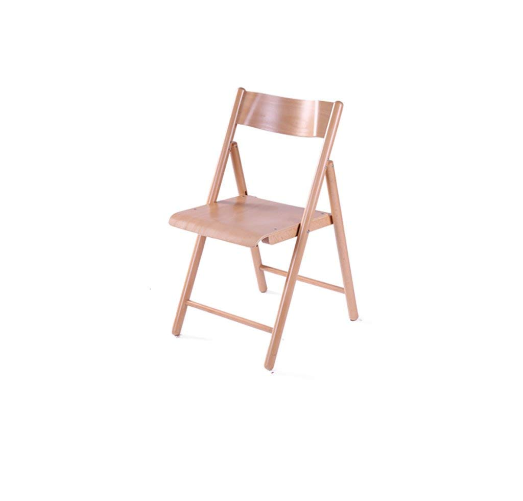 Folding Tables Solid wood folding chair dining chair/minimalist fashion chair/wooden chair/home leisure chair Reception Chairs