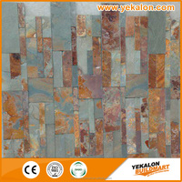 China direct factory wall re slate natural cultural stone