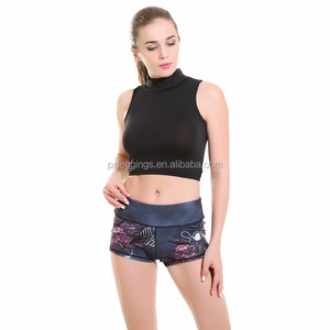 Wholesale workout sport wear girls yoga fitness pants tights dress custom printed sexy gym yoga leggings to women
