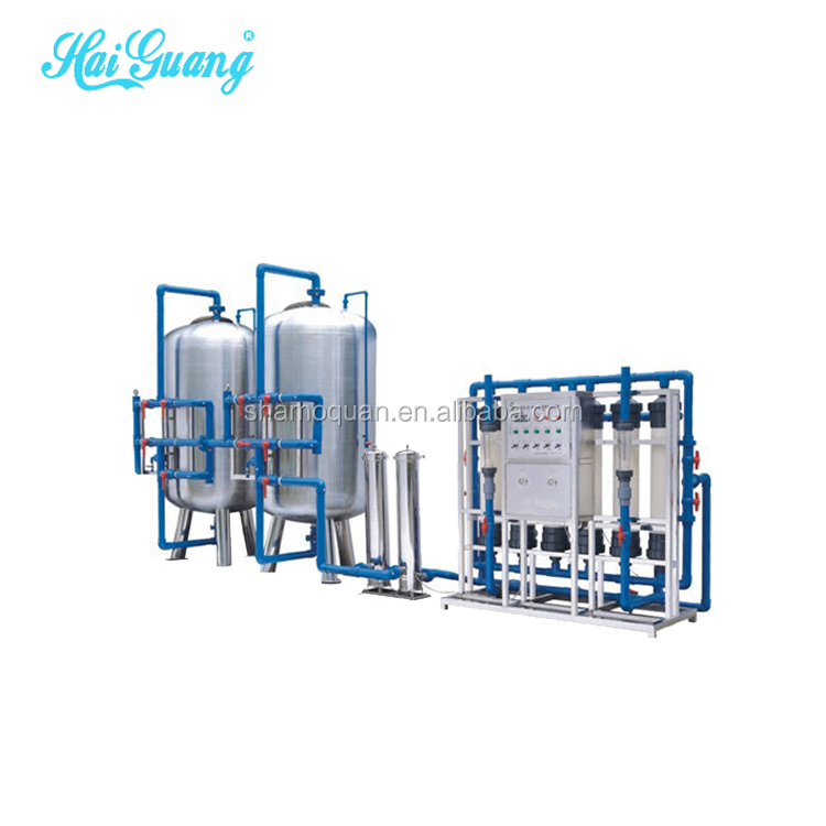 Ro Distilled Purified Water Equipment Treatment