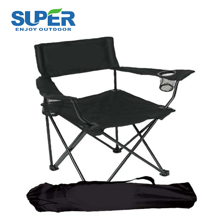 High Quality Roll Up Small Folding Beach Chair With Carrying Bag