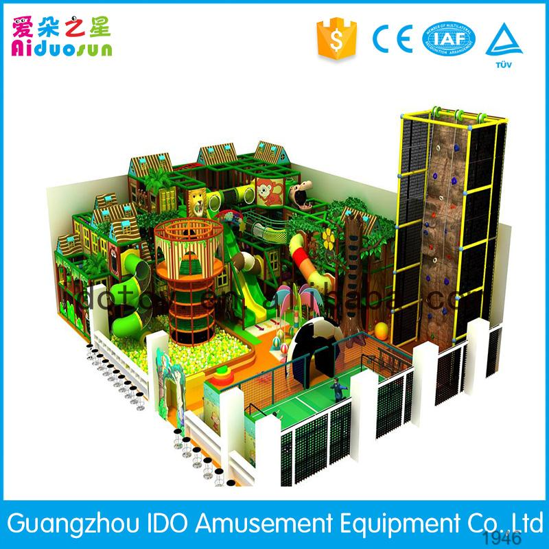 Iso9001 quality control kids indoor soft playground for for Indoor play area for sale