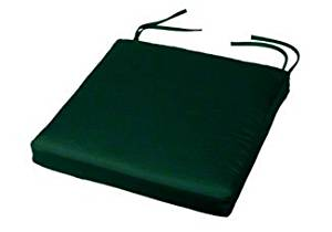 "Chair Pad with Ties | 19"" x 18"" x 2"" 