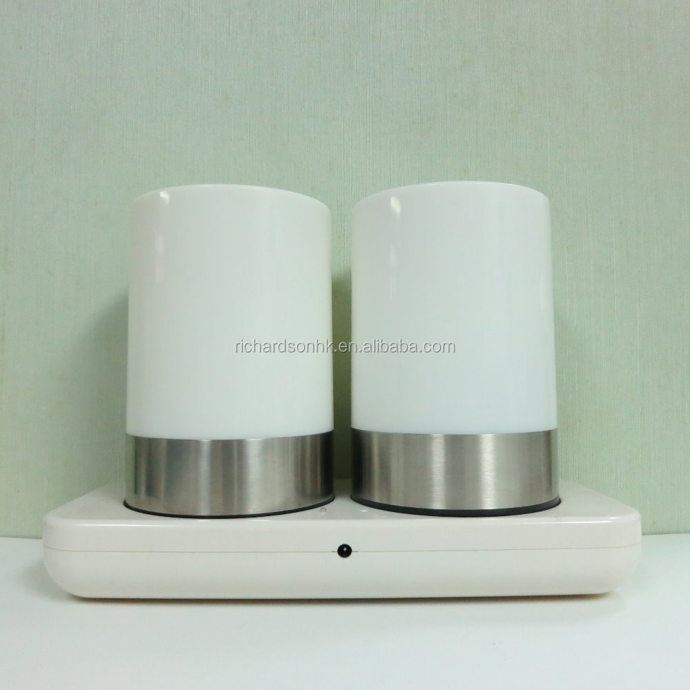 Twin Rechargeable LED Table Lamp