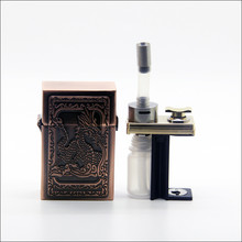 Best Mechanical Vape 7ml Squonk Bottle Stabilized Wood Mech Squonker MOD