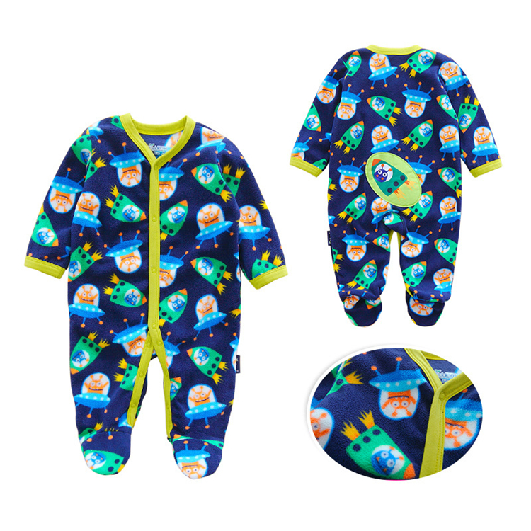 China export baby clothes romper winter warm cotton infants wear clothes animal baby clothes in guangzhou
