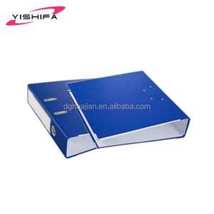 Wholesale customized cardboard PVC Paper D shape A4 lever arch file ring binder
