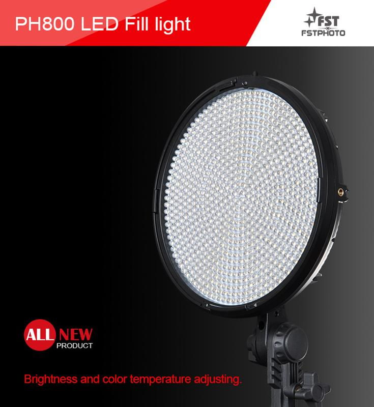 Professional Led Round Panel Continuous Studio Light For ...