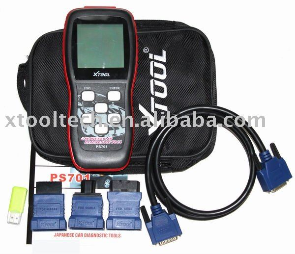 OBDII code reader for japanese car ps701