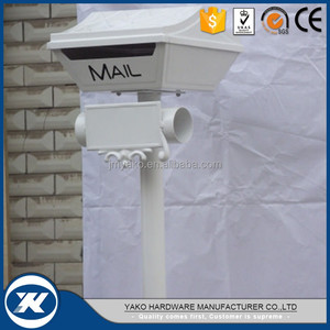 free standing cast aluminum mailbox made in Guangdong