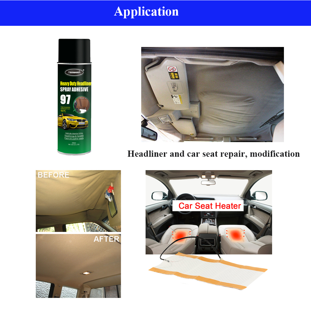 Sprayidea 97 Most Powerful Industrial Strength Adhesive for Car Headliner Repair
