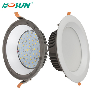 top quality dimmable ultra thin recessed 5w 7w 10w 15w 20w 30w led downlight price