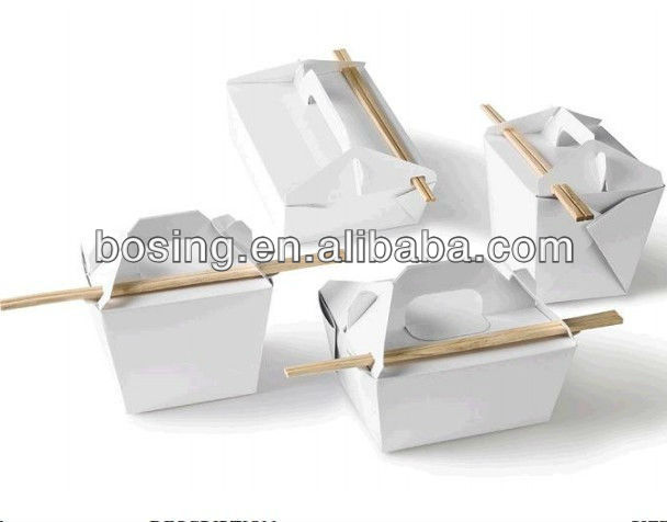 cardboard takeaway food container