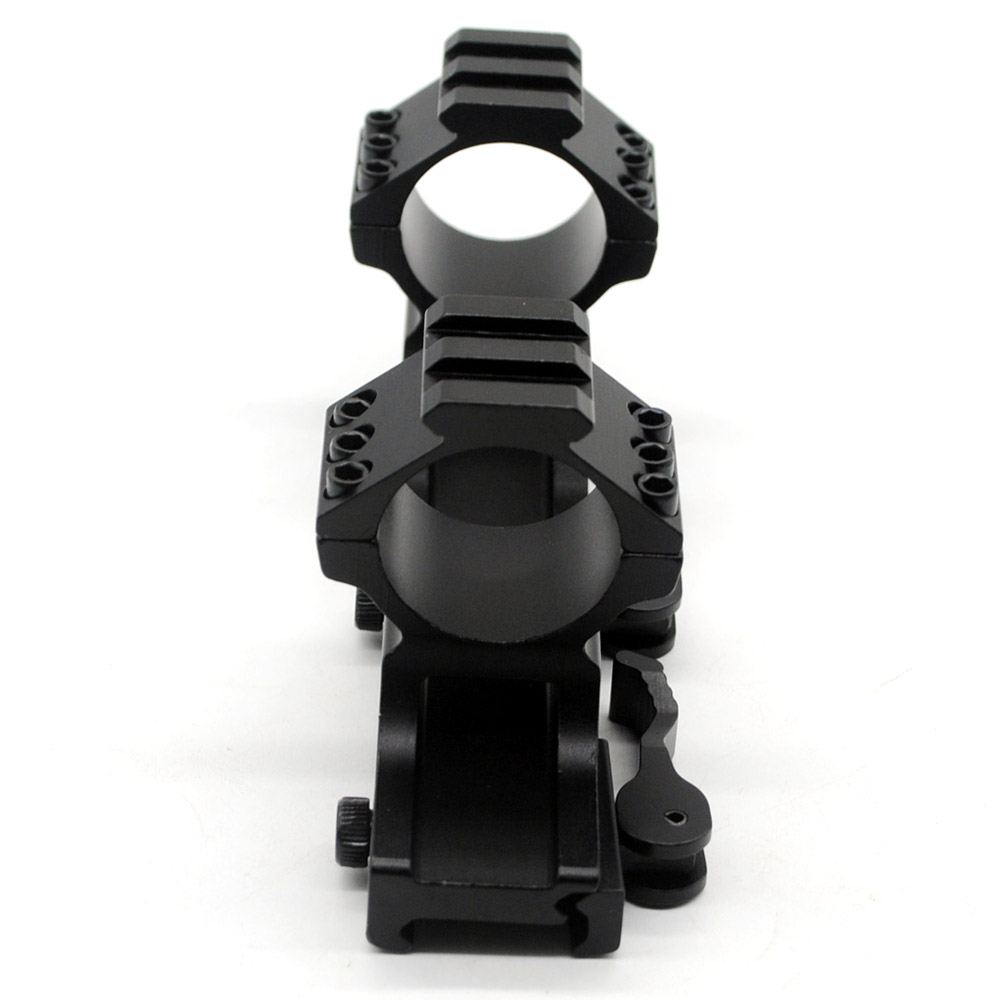 25.4mm / 30mm Quick Release Cantilever Weaver Dual Ring Riflescope Scope Mount