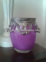 decor bars-glass candle holder