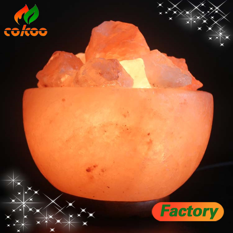 Himalayan Rock Salt Lamp Crafted Himalayan Natural Stylish Crystal Fancy Rock Salt Lamps