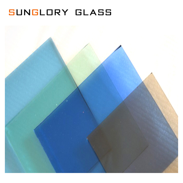 Tinted Clear Colored Float Glass Sheets Cheap Large For Sale