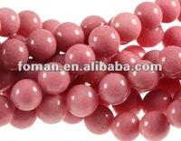 10mm round rhodonite beads semi precious gems