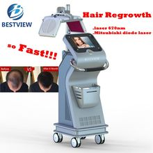 Stationary best hair restoration 670nm Laser Hair regrowth from Bestview Laser
