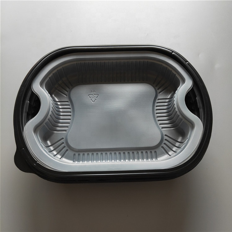 Microwave safe food disposable container