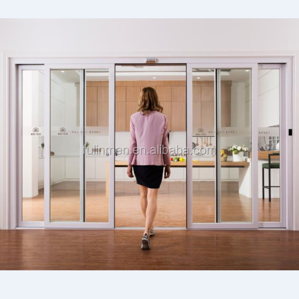 Aluminum Automatic Sliding Door