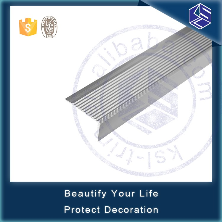 Tiles Edge Protection Tile Step Strip Aluminum Stair Nosing Trim ...