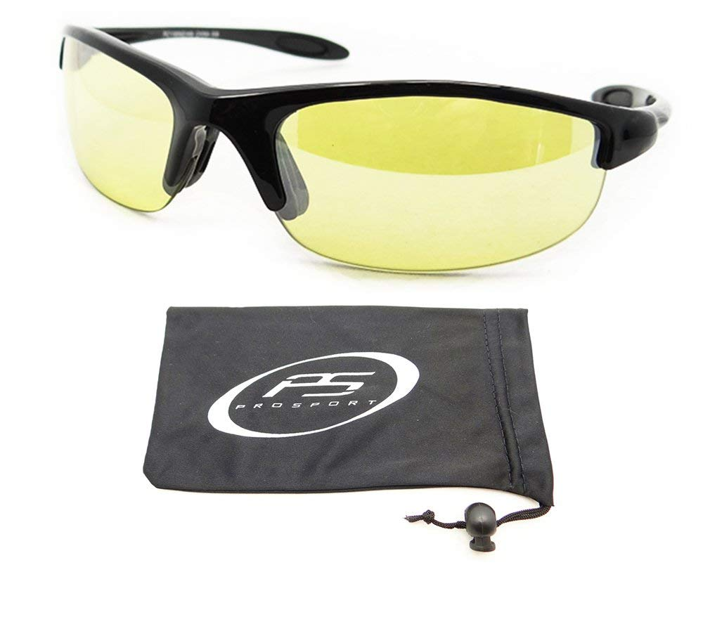 22b6cade215 Get Quotations · Small Frame Yellow Sunglasses for Cycling