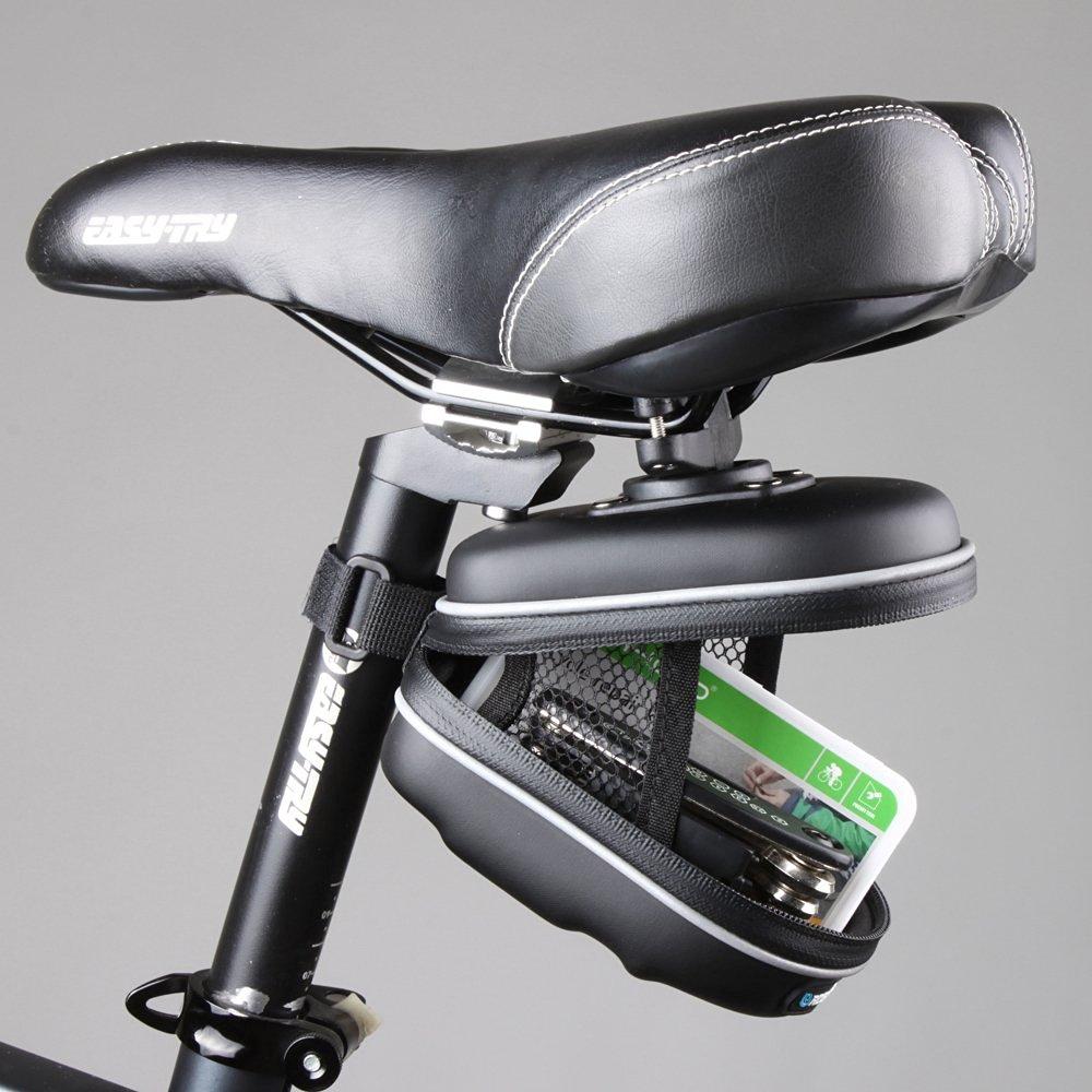 EverTrust(TM) Waterproof Reflective Bicycle Bag Rear Cycling Bike Saddle Bag With Hanging Ring EVA Mountain Road MTB Bike Seat Pounch