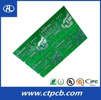 high quality quick turn white solder mask pcb for welding machine