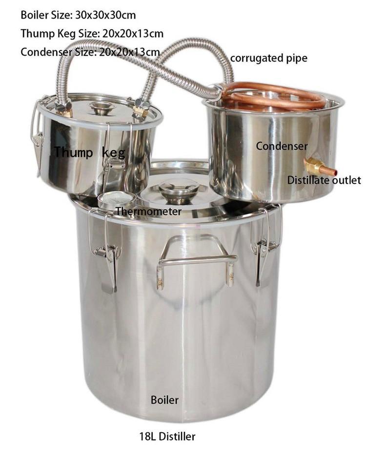 how to make a thump keg for moonshine